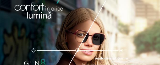 Promotie lentile Transitions Essilor