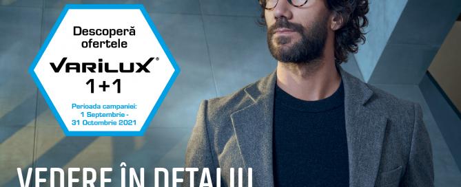 Varilux 1+1 Promotie Lentile Essilor